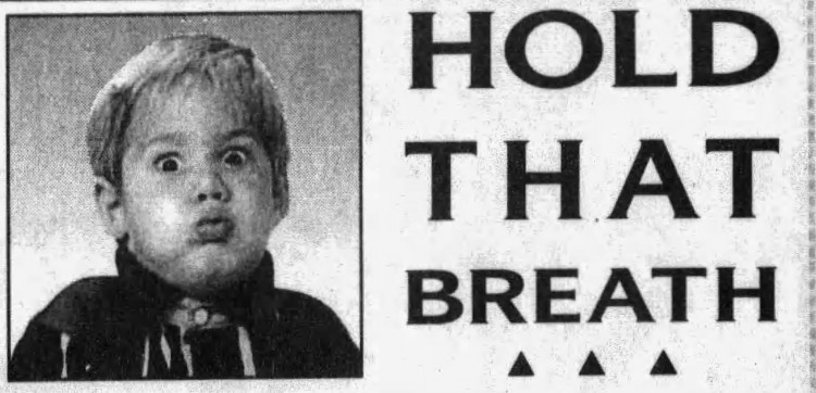 don't hold your breath' - advertisement for Munn's - The Lake Sentinel (Orlando, Florida) - 9 October 1997