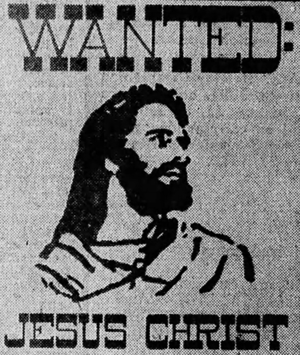'bums on seats' - 'Wanted Jesus Christ' - The Age (Melbourne) - 15 January 1972