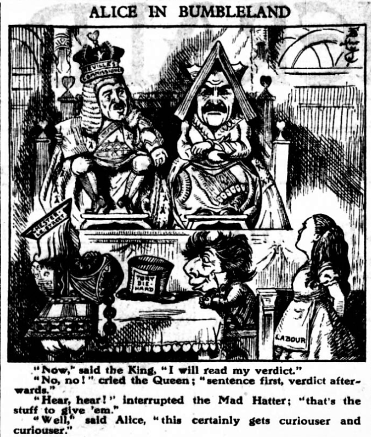 'Alice in Bumbleland' - Daily Herald (London, England) - 30 March 1927