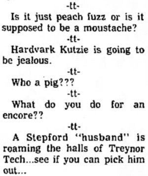 'Stepford husband' - Treynor Record (Iowa) - 20 March 1975