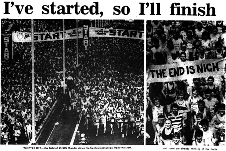 'I've started, so I'll finish' - The Journal (Newcastle upon Tyne, Tyne and Wear, England) - 1 July 1985