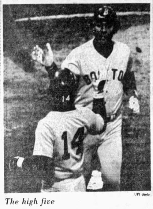 'high five' - Fort Lauderdale News (Fort Lauderdale, Florida) - 30 April 1980