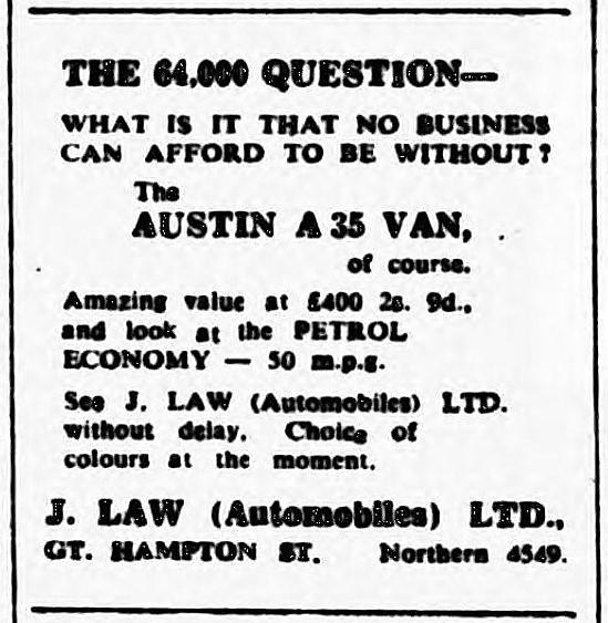 64,000 question' - Birmingham Post and Birmingham Gazette (Birmingham, Warwickshire) - 5 December 1956