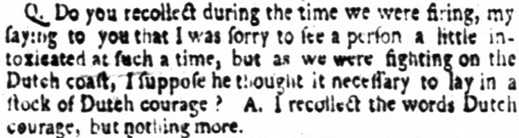 Dutch courage - The Times (London) - 14 December 1797