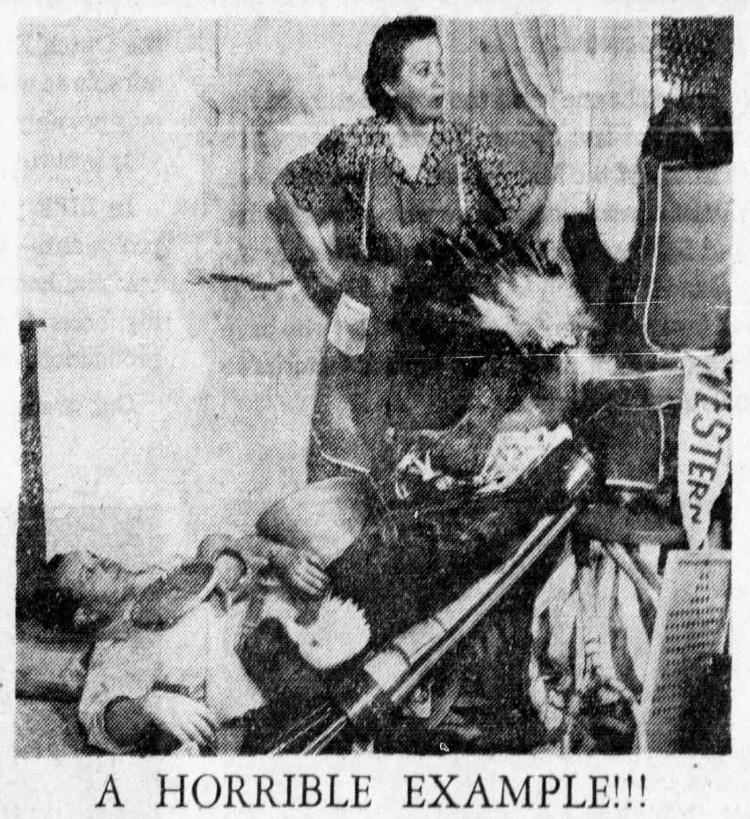 Fibber McGee's closet - Minneapolis Star Journal (Minneapolis, Minnesota) - 29 September 1942