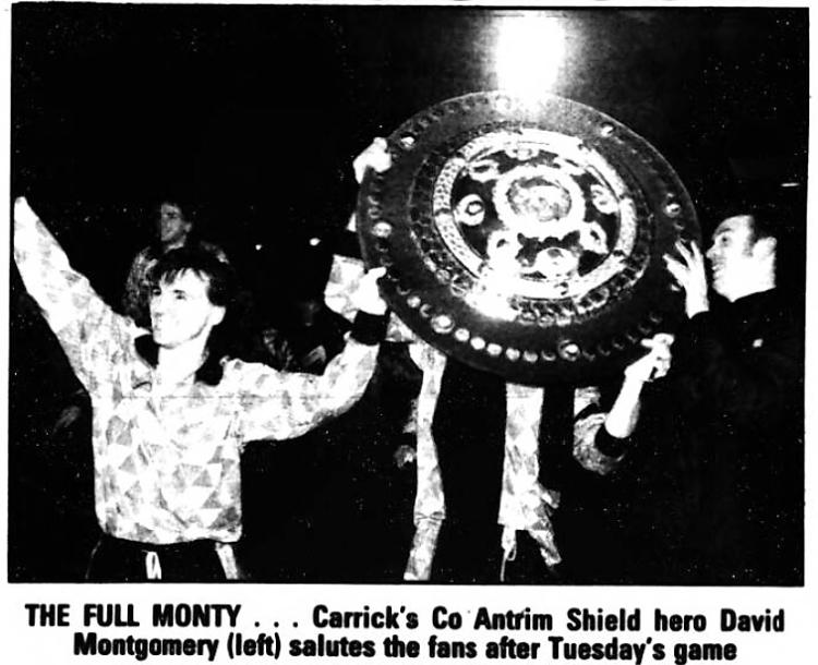 'the full monty' - Sunday Life (Belfast, Antrim, Northern Ireland) - 21 February 1993