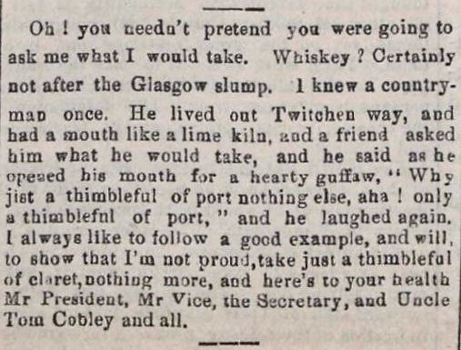 Uncle Tom Cobley and all' - Western Times (Exeter, Devon) - 13 January 1899