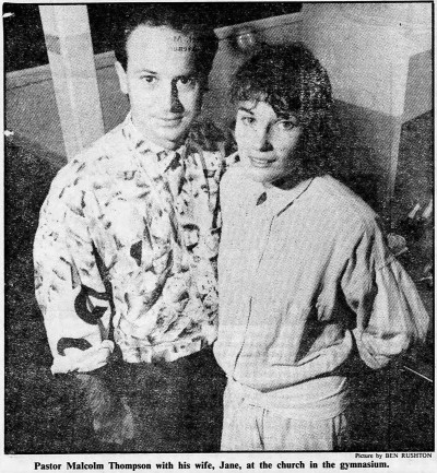 Malcolm & Jane Thompson - Sydney Morning Herald - 14 April 1988