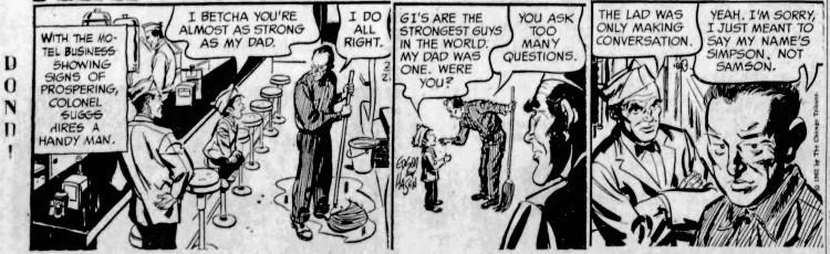 'my name's Simpson, not Samson' - The Spokesman Review (Spokane, Washington) - 22 February 1962