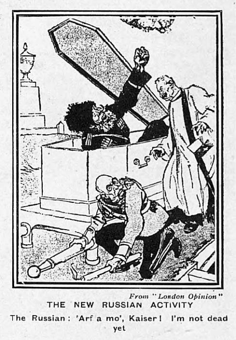 'arf a mo', Kaiser! - The Tatler (London, England) - 23 February 1916