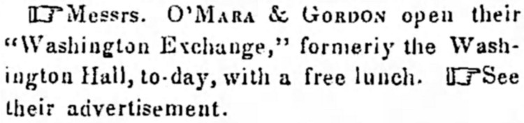 free lunch 1 - Morning Courier (Louisville, Kentucky) - 29 July 1847