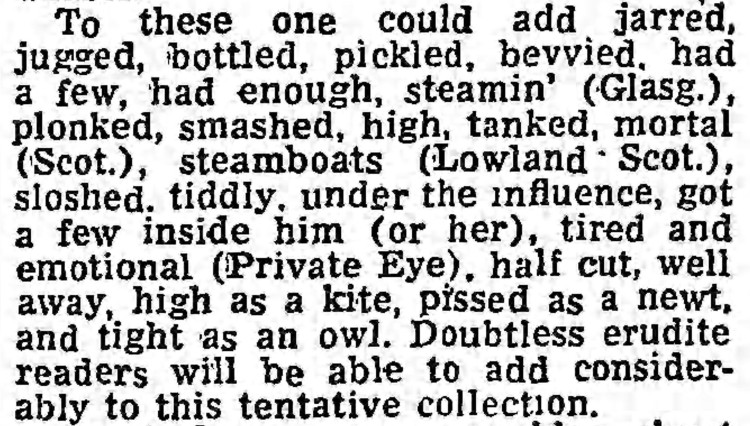 'tired and emotional' - The Guardian (Manchester, Lancashire) - 10 August 1974