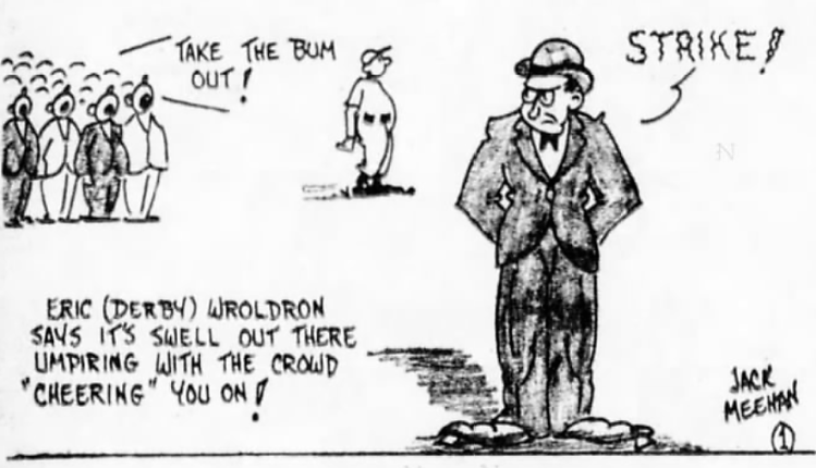baseball umpire - Brooklyn Daily Eagle (New York) - 18 July 1934