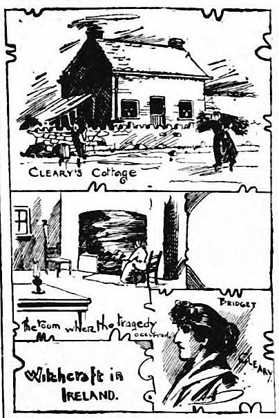 Bridget Cleary's murder - Beverley Recorder and General Advertiser (Beverley, Yorkshire) - 6 April 1895