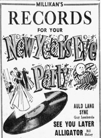 Bill Haley - See You Later Alligator - Hammond Times - 30 December 1955