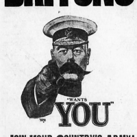 history of the phrase '(Lord) Kitchener wants you'