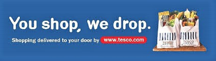 'You shop, we drop' - Tesco slogan