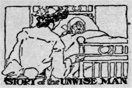 'to shop till one drops' - Story of the Unwise Man - Chicago Daily Tribune - 15 December 1905