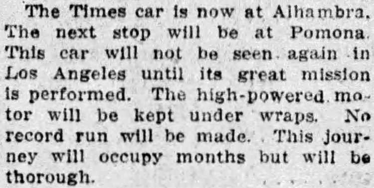 'under wraps' - Los Angeles Times (California) - 17 March 1912