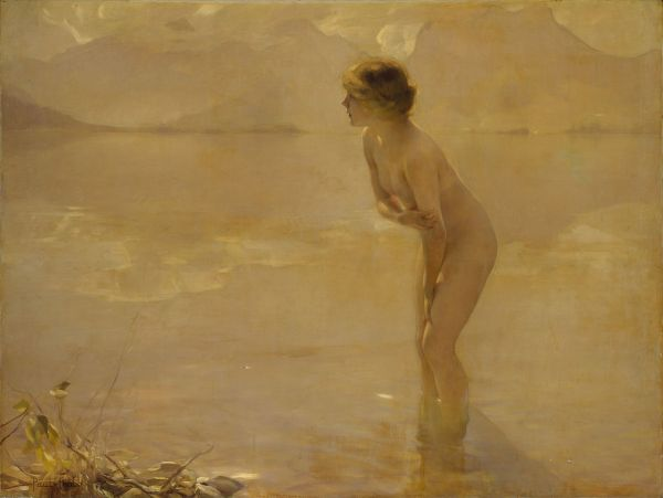 Paul Chabas - 'September Morn' (circa 1912)
