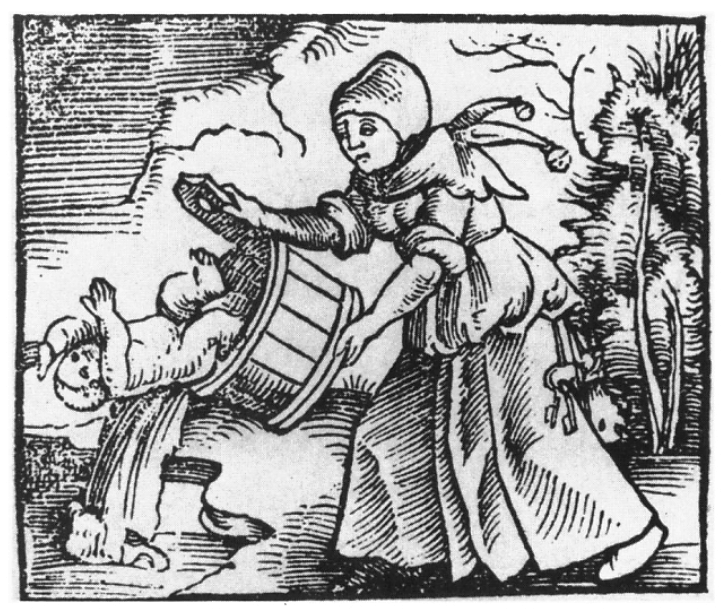 'to throw the baby out with the bath water' - Narrenbeschwörung (1512) - Thomas Murner