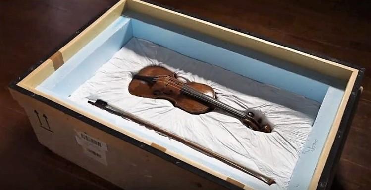 Ingres's violin - Ingres Museum - Montauban