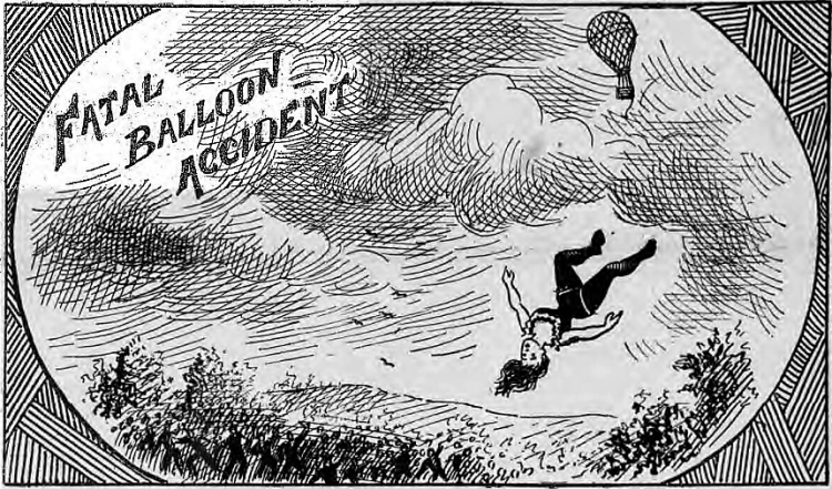 Fatal Balloon Accident - The Illustrated Police News (London, England) - 13 October 1894