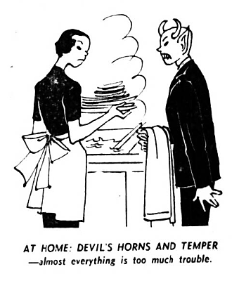 house devil - The Weekly Telegraph (Sheffield, Yorkshire) - 9 December 1950