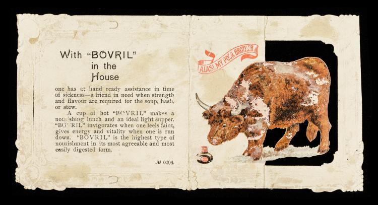 Bovril ad 'Alas my poor brother' - 1890s - 2