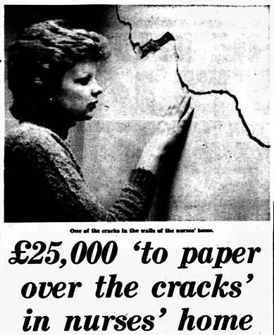 'to paper over the cracks' - Coventry Evening Telegraph (Coventry, Warwickshire) - 28 March 1975