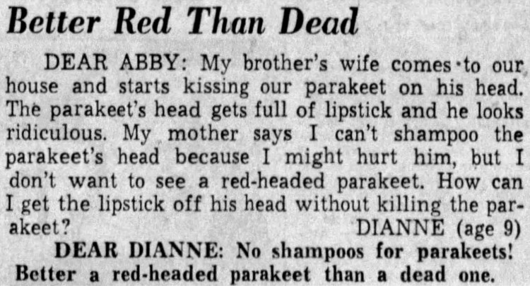better red than dead - Times-Democrat (Davenport, Iowa) - 5 July 1958