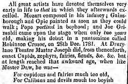 awkward age' - North Wales Chronicle (Gwynedd, Wales) - 7 February 1832