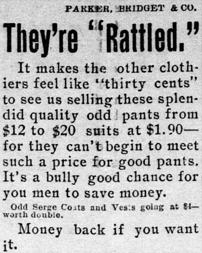'like thirty cents' - The Times (Washington, D.C.) - 30 August 1897