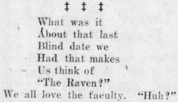 'blind date' - Daily Republican (Rushville, Indiana) - 5 April 1922