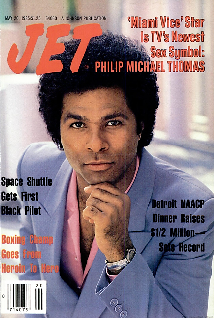 Philip Michael Thomas - cover of Jet (Chicago, Illinois) - 20 May 1985