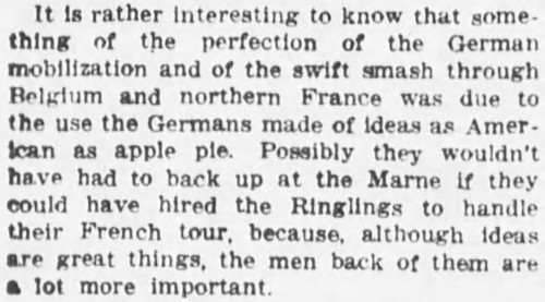 as American as apple pie' - The Sun and the New York Herald (New York) - 4 April 1920