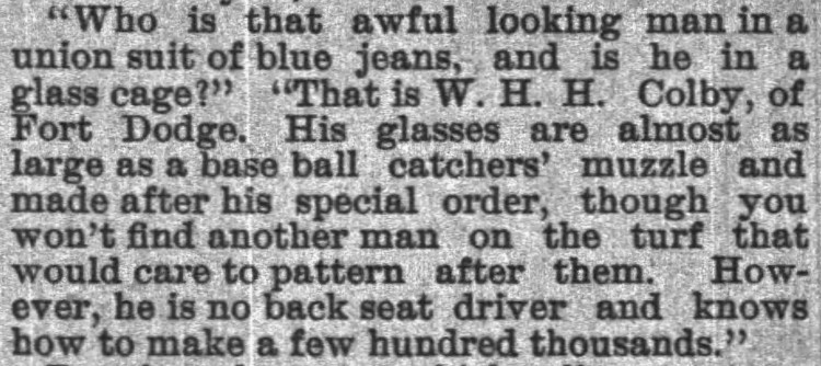 'back seat driver' - Sioux City Journal (Iowa) - 5 July 1891