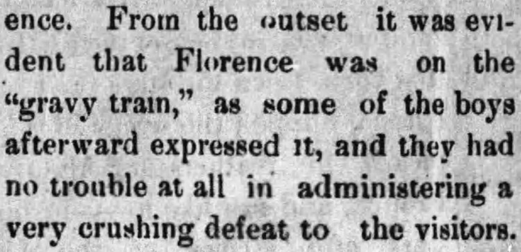 gravy train - Florence Herald - 14 September 1899