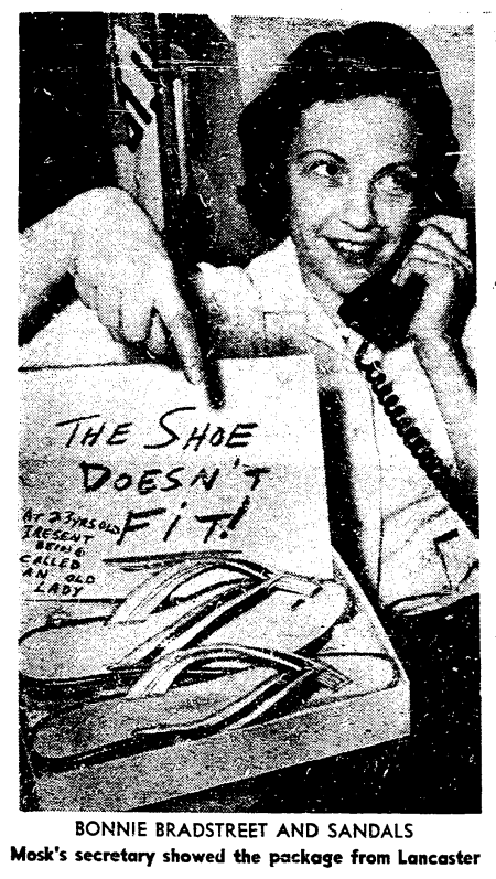 'little old ladies in tennis shoes' - San Francisco Chronicle - 10 August 1961