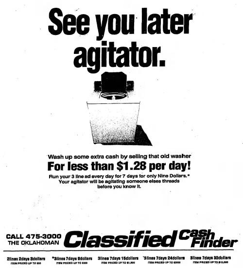'see you later, agitator' - The Daily Oklahoman (Oklahoma City, Oklahoma) - 12 August 1992