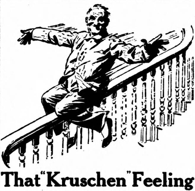 that Kruschen feeling - Kruschen Salts - Daily Herald (London, England) - 15 March 1922