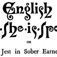 'English as she is spoke': meaning and origin