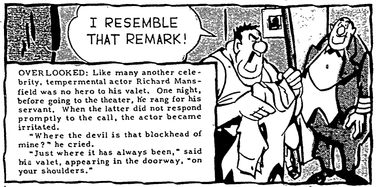 'I resemble that remark' - Chicago Sunday Sun Times (Chicago, Illinois) - 3 October 1948