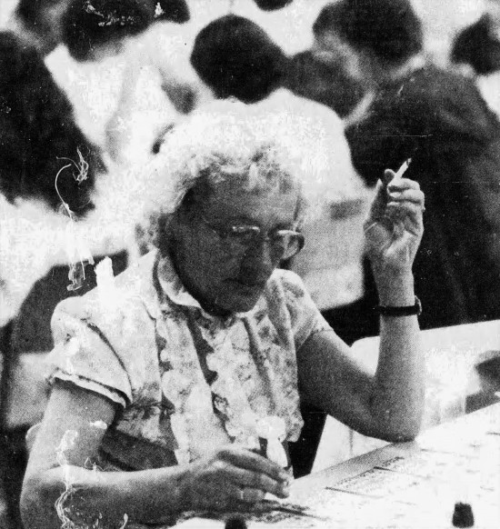 Joan Martin concentrates - The Edmonton Journal (Edmonton, Alberta, Canada) - 11 August 1985