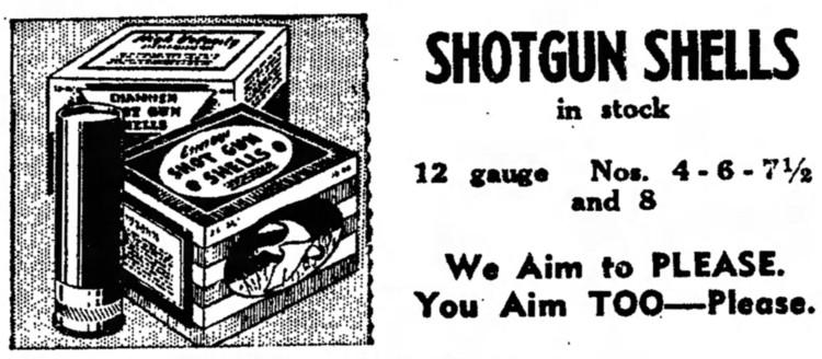 'we aim to please; you aim too, please' - Nashua Telegraph (Nashua, New Hampshire) - 8 October 1947