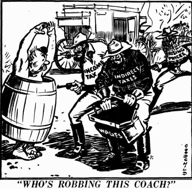 'who's robbing this coach' - The News (Adelaide, South Australia) - 8 January 1947