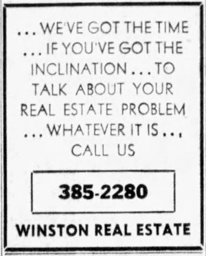 'we've got the time if you've got the inclination' - Democrat and Chronicle (Rochester, N.Y.) - 2 October 1970