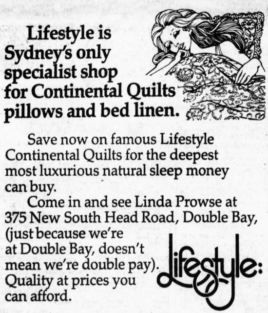 'Double Bay, double pay' - The Sydney Morning Herald (Sydney, New South Wales) - 9 August 1978